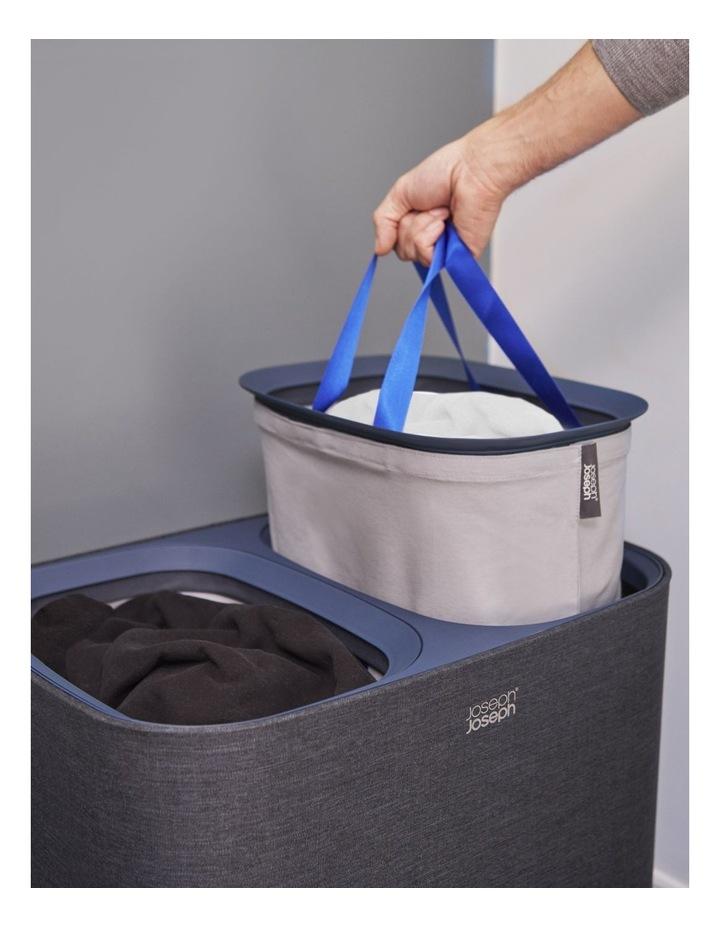 Tota 90-litre Laundry Separation Basket - Carbon Black image 6