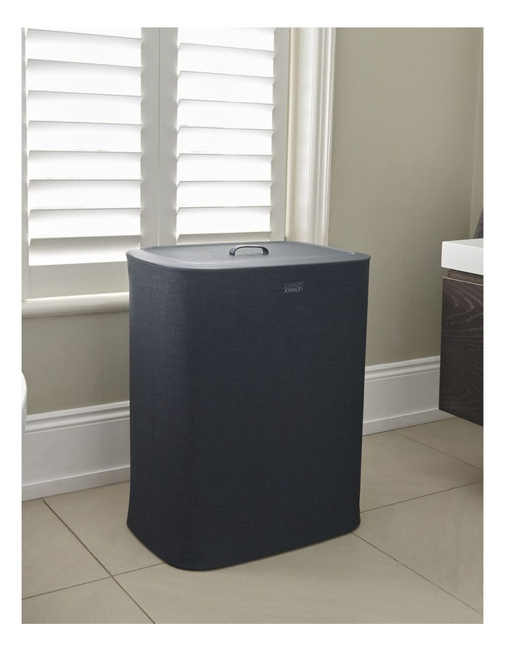 Tota 90-litre Laundry Separation Basket - Carbon Black image 7