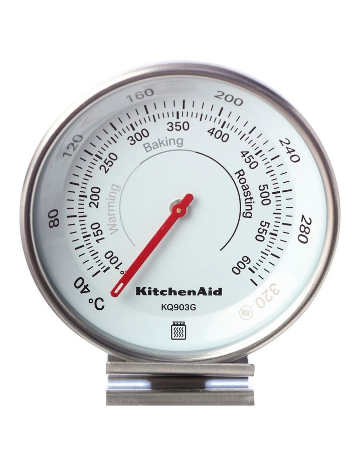 Dial Oven Thermometer Black image 1