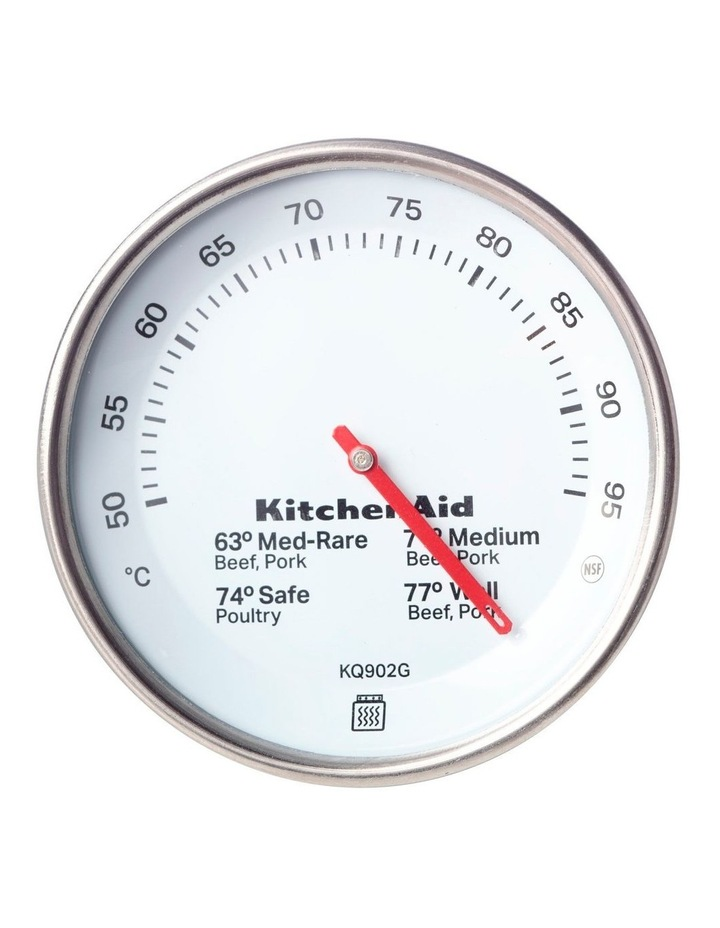 Leave In Meat Thermometer Black image 1