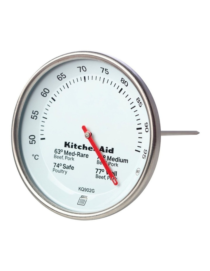 Leave In Meat Thermometer Black image 2