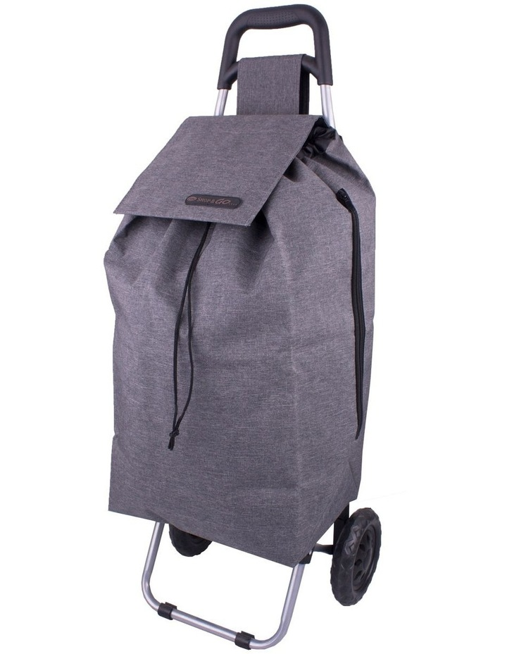 Sprint 45L Shopping Trolley in Charcoal Grey image 1