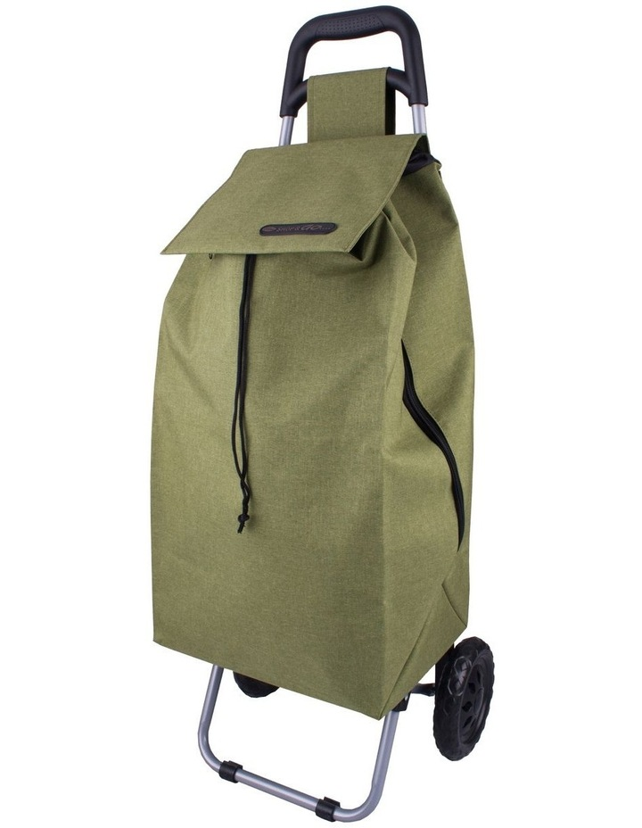 Sprint 45L Shopping Trolley in Sage Green image 1