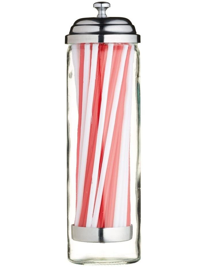 Dispenser With Straws 24cm image 1