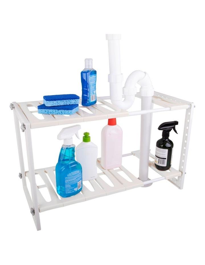 Expandable Under Sink Shelf Organiser image 1