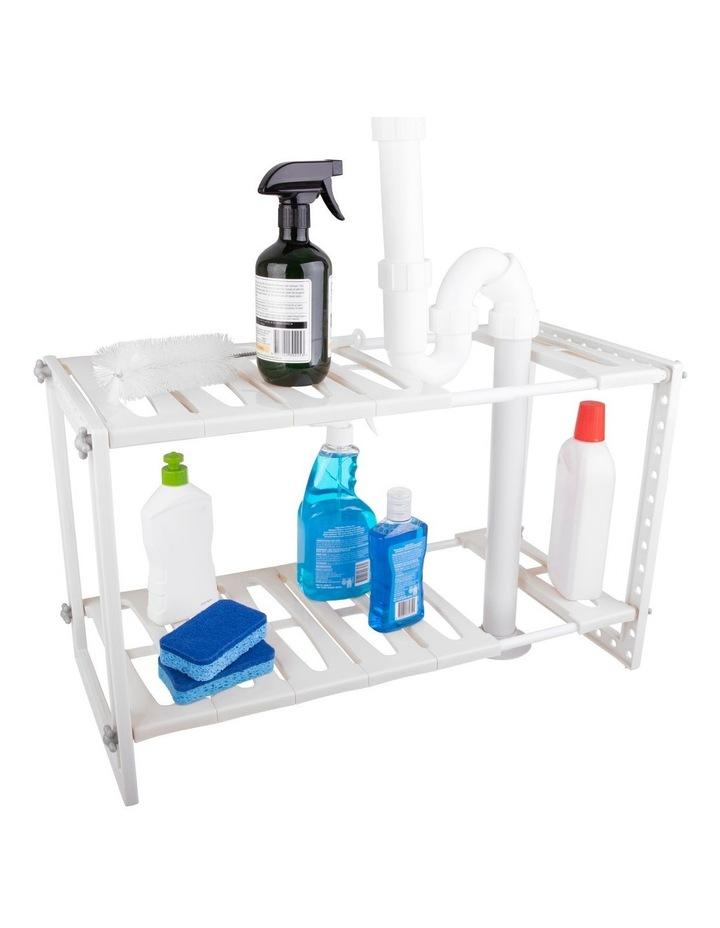 Expandable Under Sink Shelf Organiser image 5