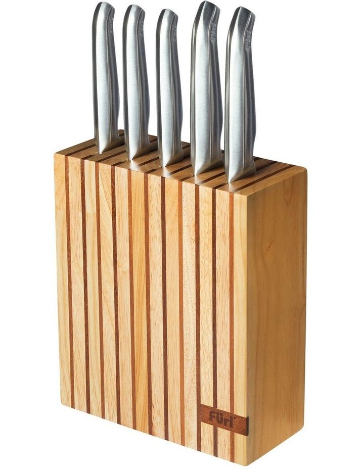 Clean Store Acacia Knife Block - 7 Piece Set image 1