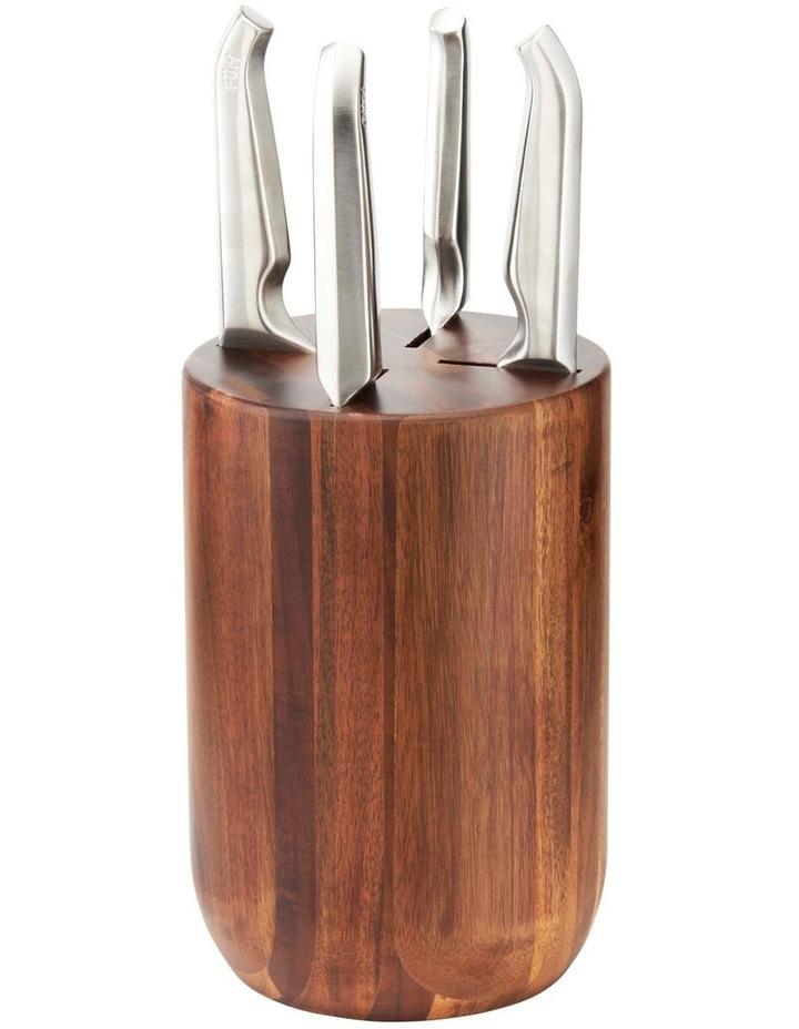 Capsule 5 Piece Knife Block Set image 1