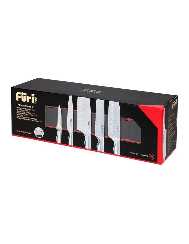 Furi Pro 7pc Magnetic Wall Rack Knife Set image 1