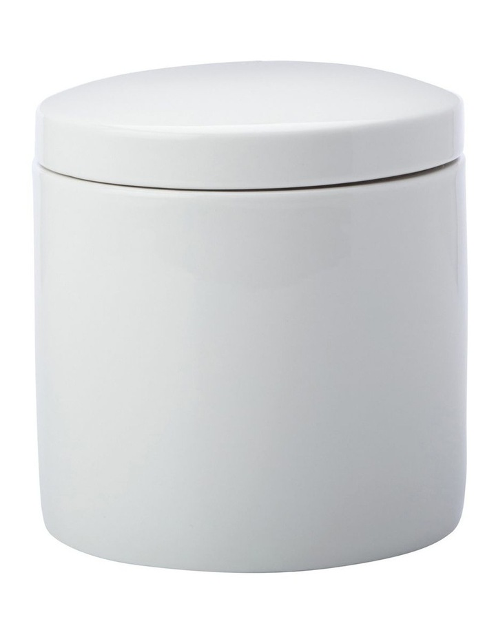 Epicurious Canister 1L White Gift Boxed image 1