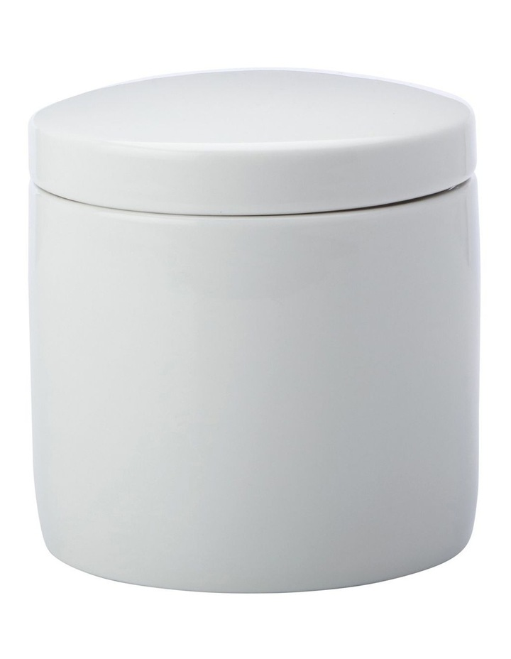 Epicurious Canister 600ML White Gift Boxed image 1