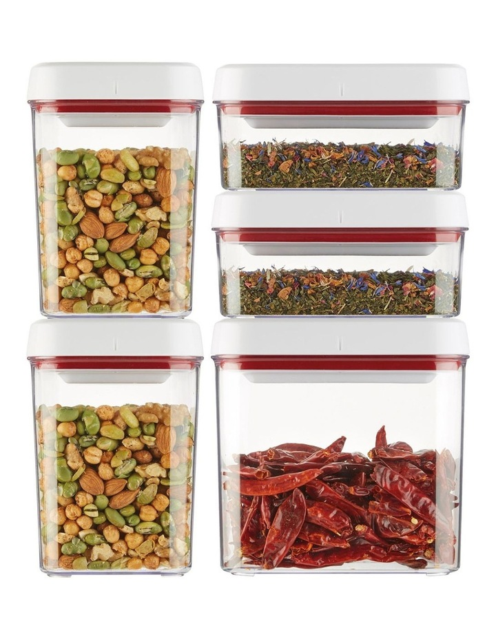 Twist & Seal 5pc Container Set image 2