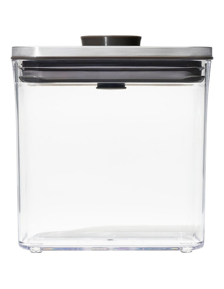 POP 2.0 Steel Rectangle Container Short - 1.6L image 1