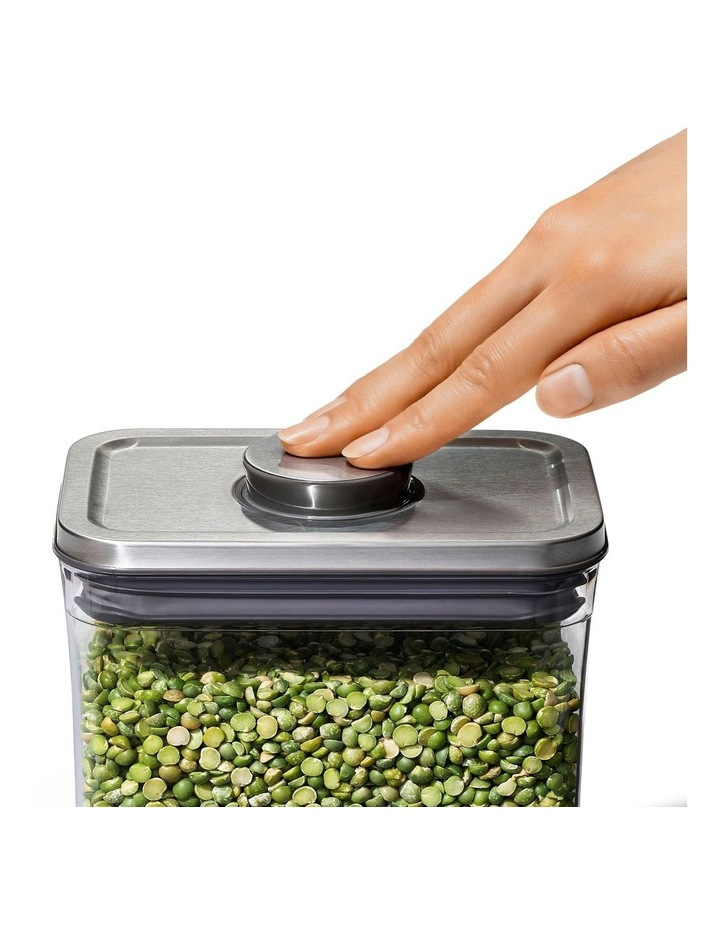POP 2.0 Steel Rectangle Container Short - 1.6L image 3