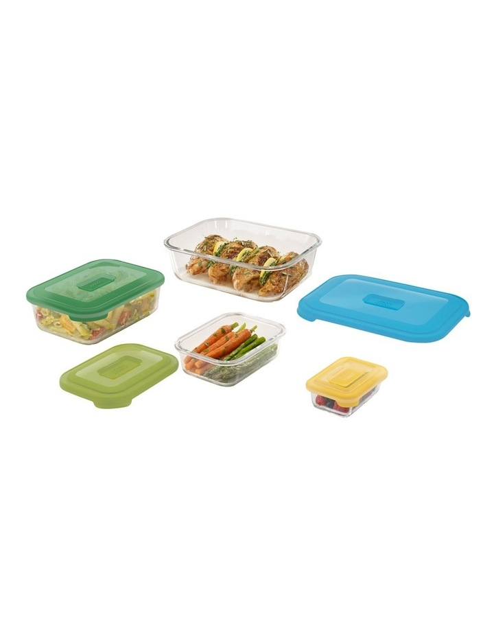 Nest 4pc Storage Glass Container Set image 3