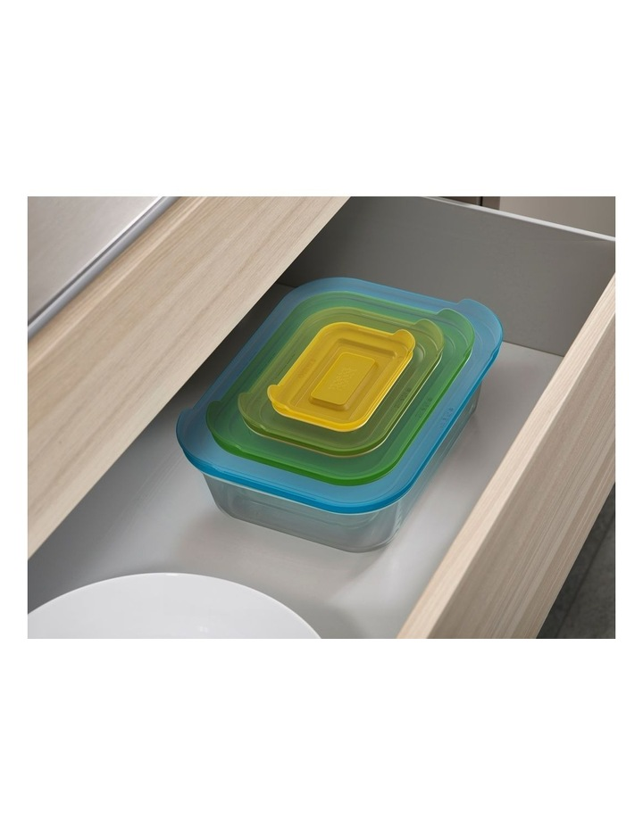 Nest 4pc Storage Glass Container Set image 4