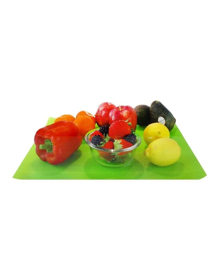 """""""Fruit Fresh"""" Crisper Drawer Liner Set 2 - Green image 2"""