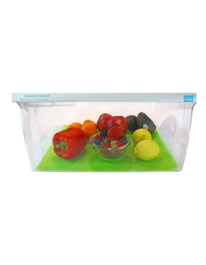 """""""Fruit Fresh"""" Crisper Drawer Liner Set 2 - Green image 3"""