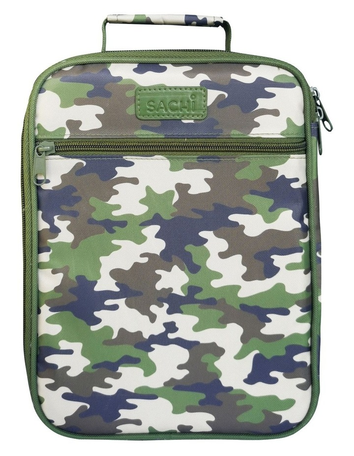 Style 225 Insulated Lunch Tote - Camo Green image 2