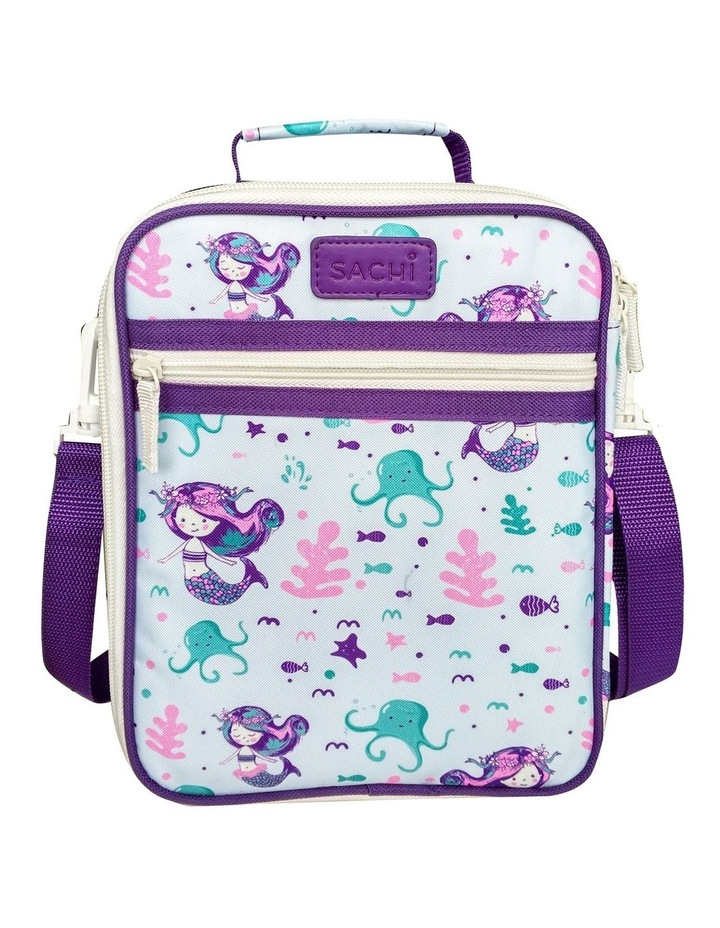 Style 225 Insulated Lunch Tote - Mermaids image 2