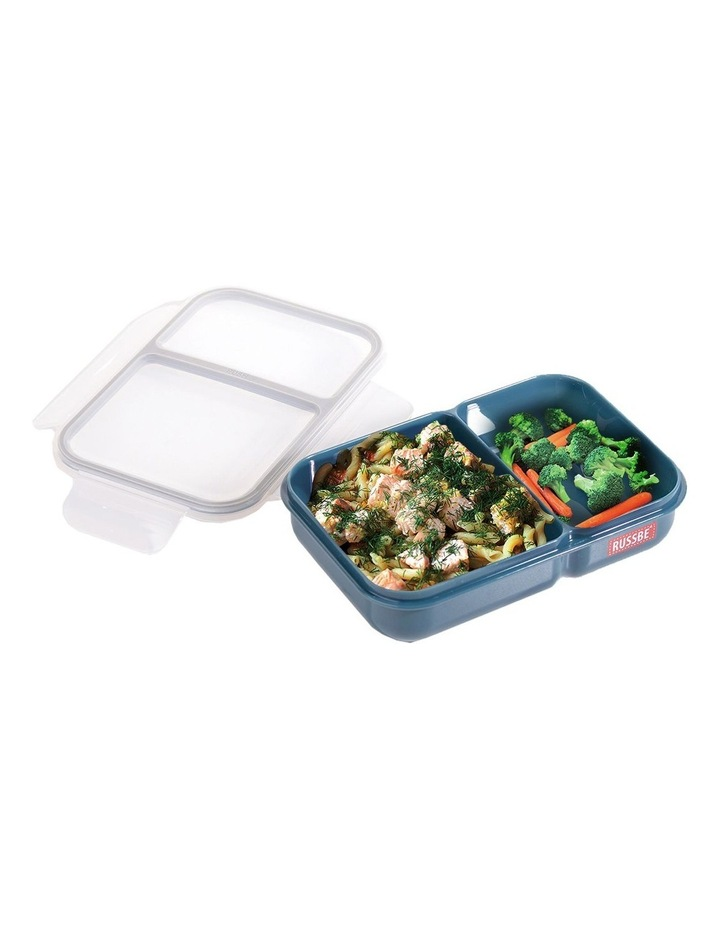 Inner Seal 2 Compartment Lunch Bento 680ml - Navy image 2