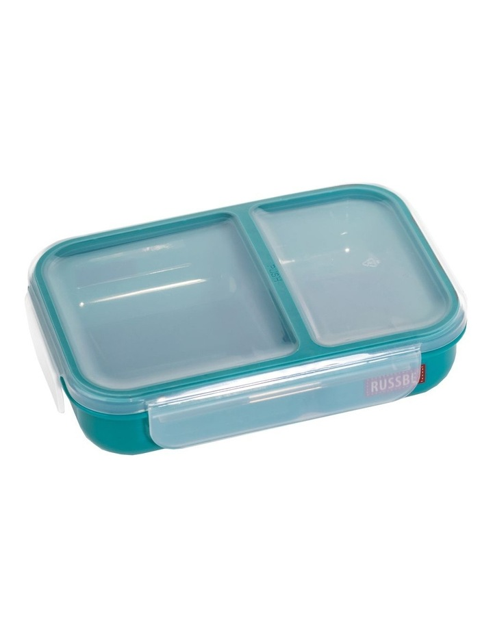 Inner Seal 2 Compartment Lunch Bento 680ml - Teal image 1