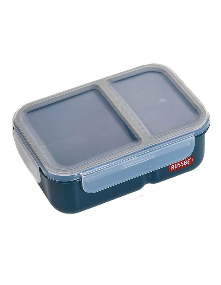 Inner Seal 2 Compartment Lunch Bento 1.1L - Navy image 1