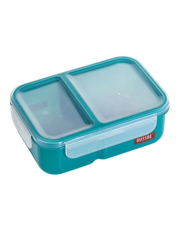 Inner Seal 2 Compartment Lunch Bento 1.1L - Teal image 1