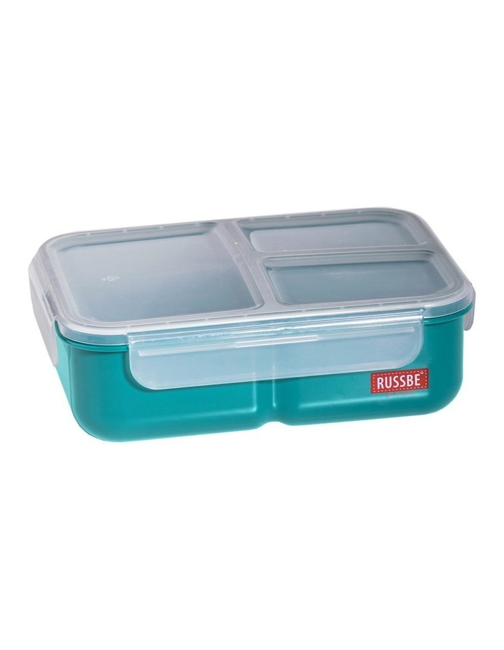 Inner Seal 3 Compartment Lunch Bento 1.6L - Teal image 1
