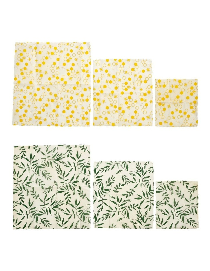 Eco Assorted 3pce Set Beeswax Wraps image 2