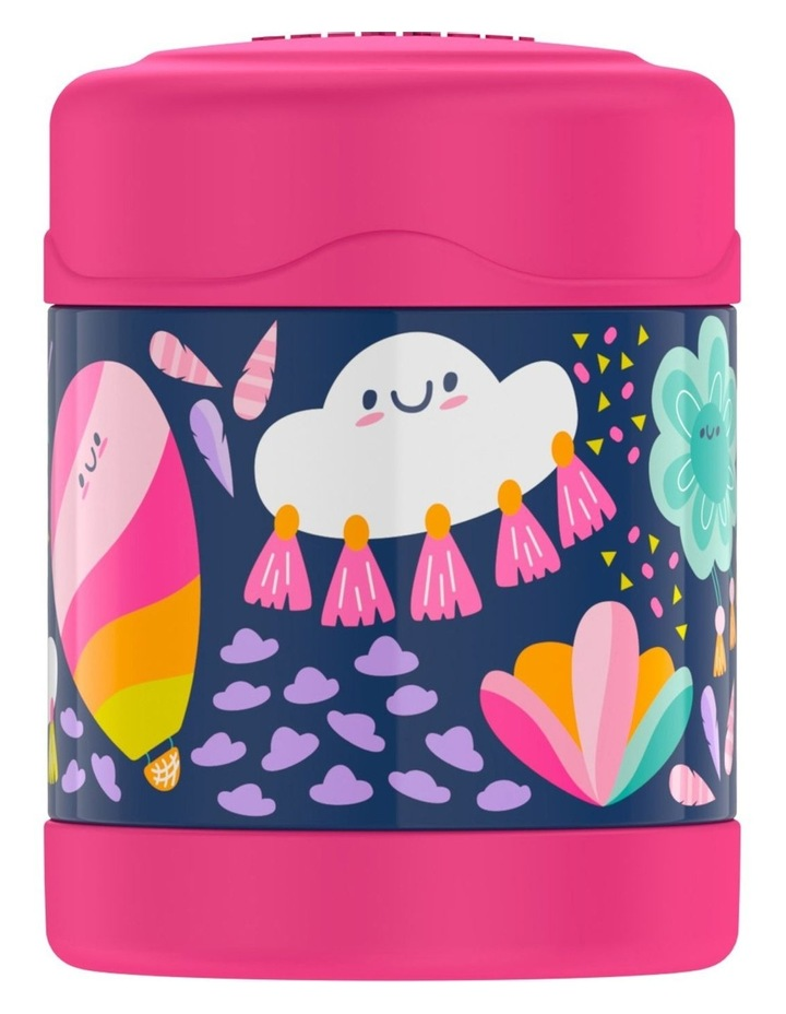 Funtainer S/S 290ml Food Jar Whimsical Clouds 1 image 1