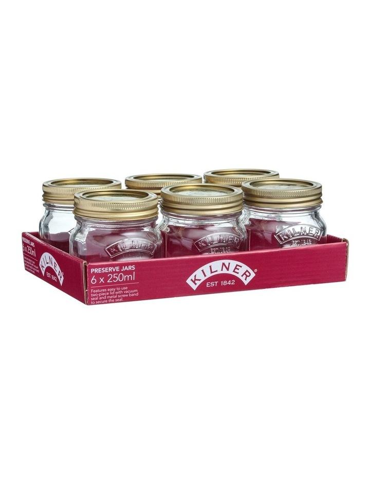Genuine Preserve Jar Set of 6 250ml image 1