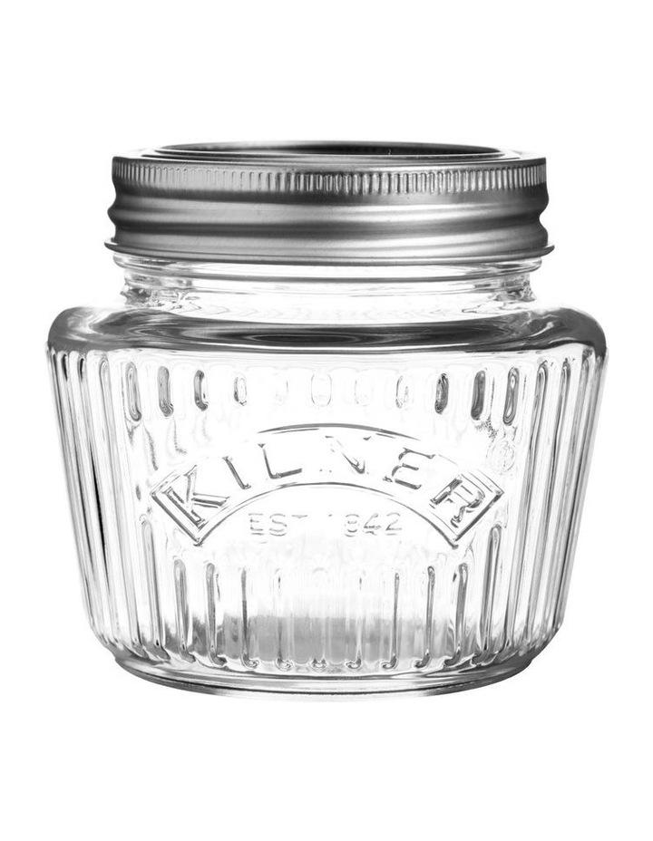 250ml Vintage Preserve Jar in Clear image 1