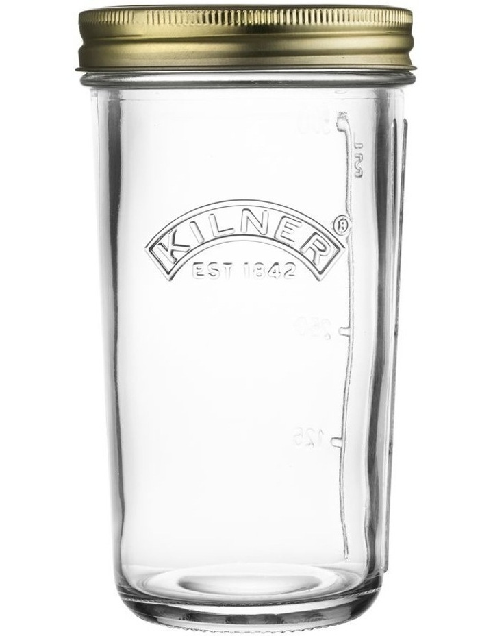 500ml Wide Mouth Preserve Jar in Clear image 1