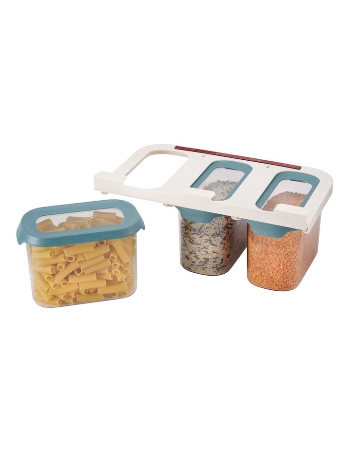 CupboardStore 3 x 1.3 litre Food Storage Set - Dark Opal image 2