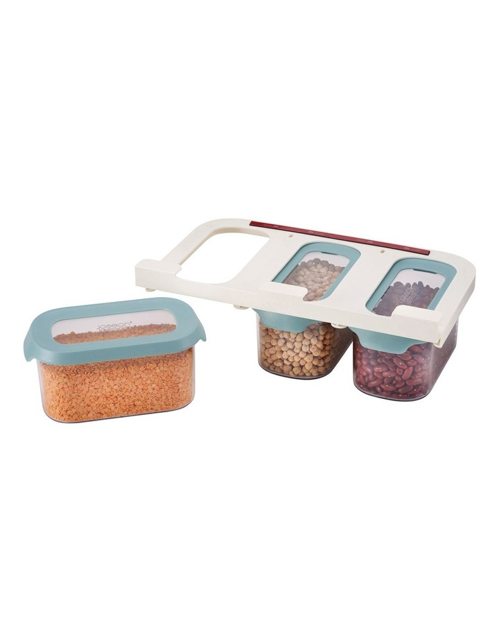 CupboardStore 3 x 900 ml Food Storage Set - Light Opal image 2