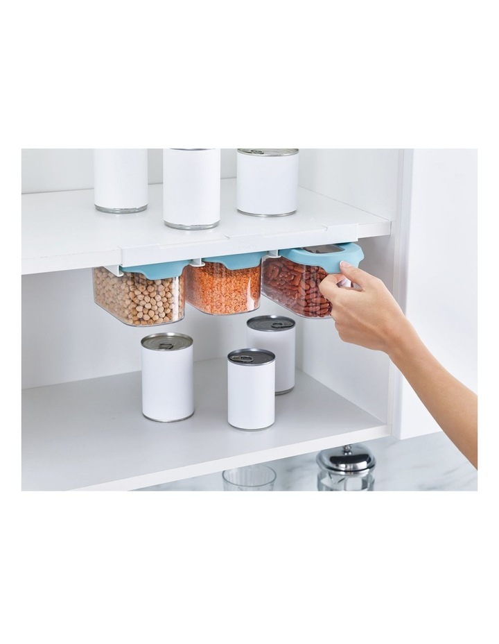 CupboardStore 3 x 900 ml Food Storage Set - Light Opal image 4