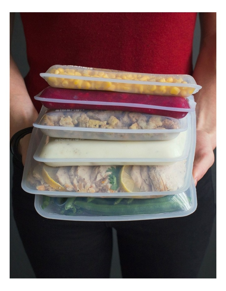 Snack Bag 293ml Clear image 2
