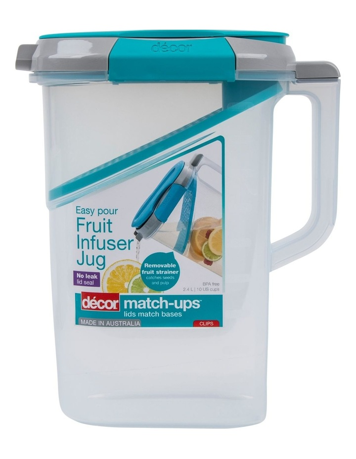 Match-Ups Clips Water Infuser Jug 2.4L image 1