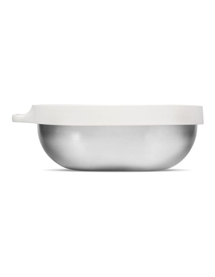Hip Stainless Steel Salad Bowl - 1.1 Litre - Cloud image 3