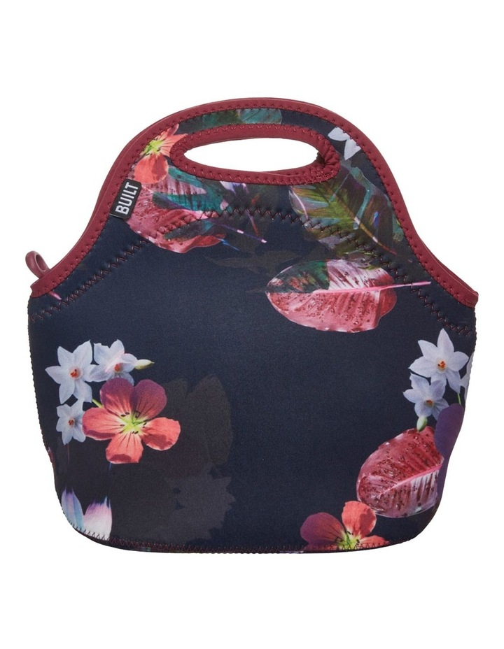 Gourmet Getaway Lunch Tote Midnight Botanical image 1