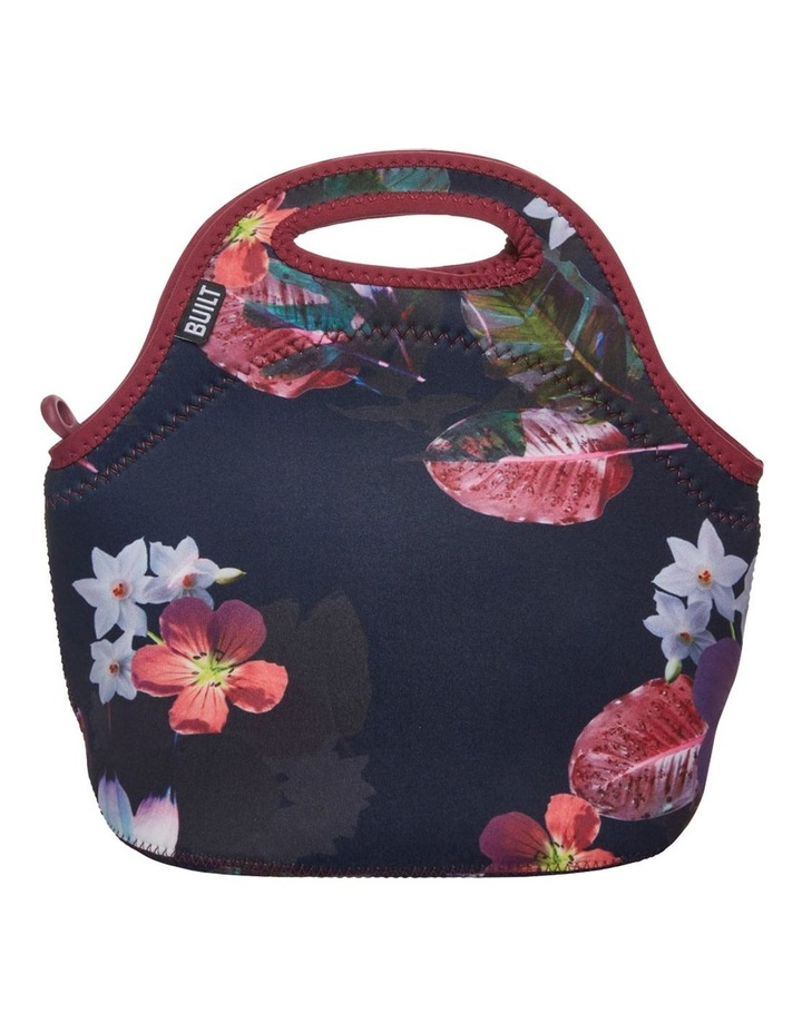 Gourmet Getaway Lunch Tote Midnight Botanical image 2