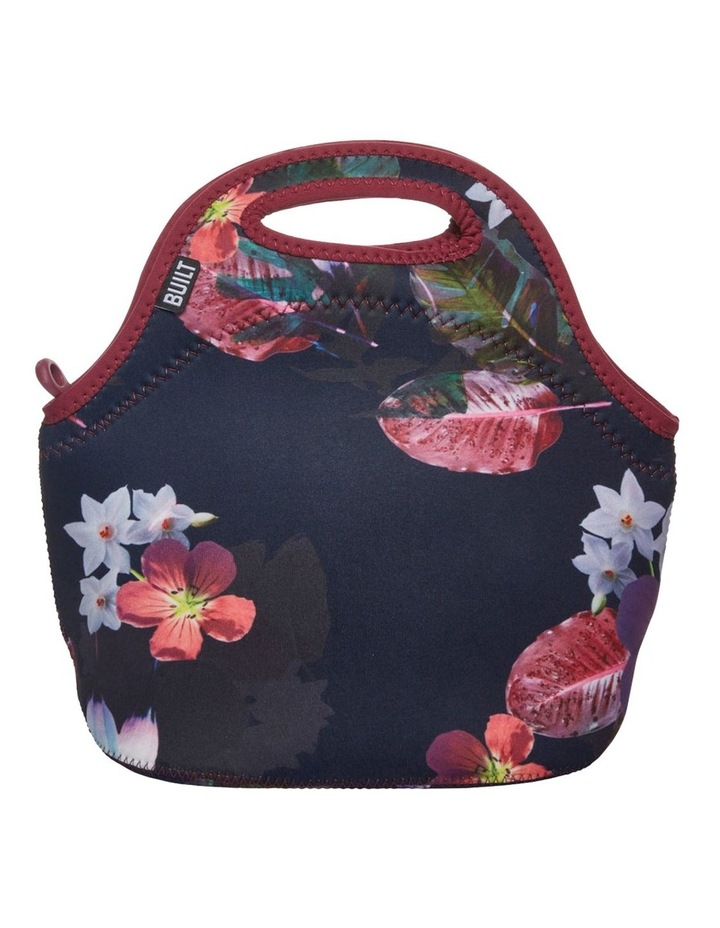Gourmet Getaway Lunch Tote Midnight Botanical image 3