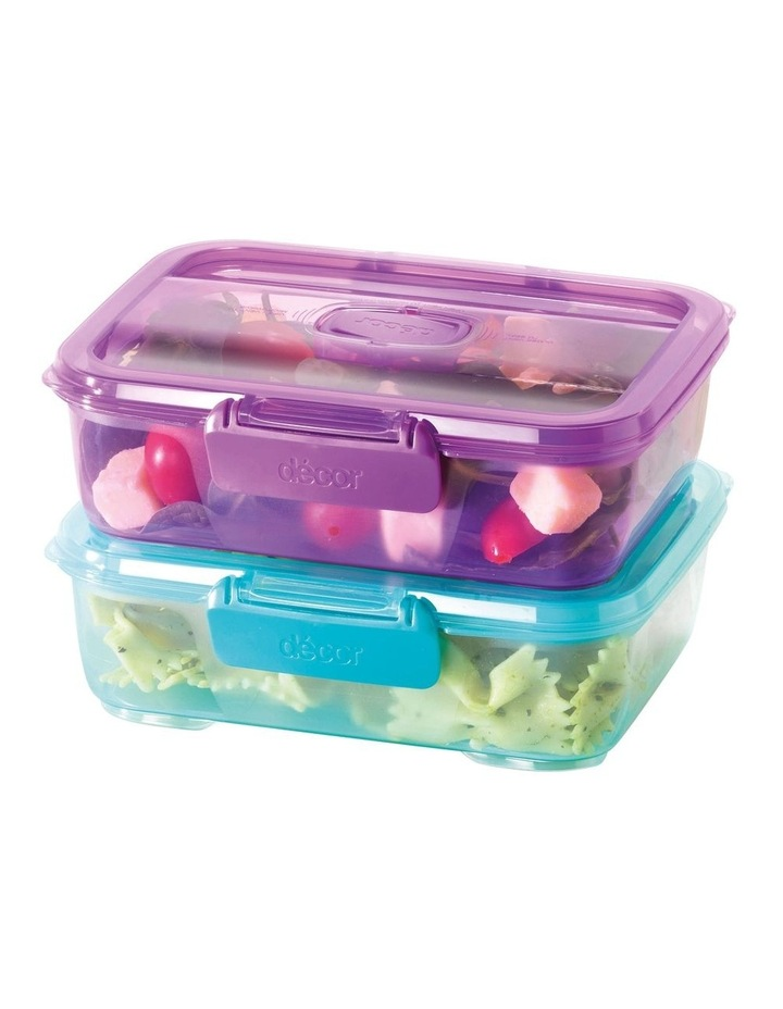 Go Lunch Box Oblong 800ml Assorted image 3
