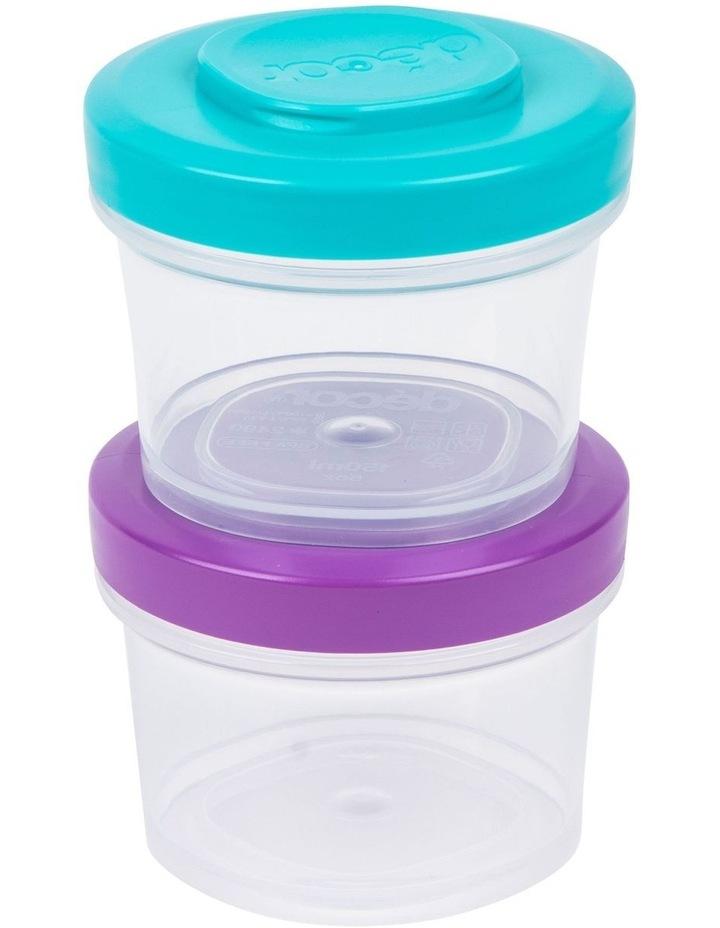 Go Snack Tub Medium Round 2 Pack 150ml  Assorted image 2