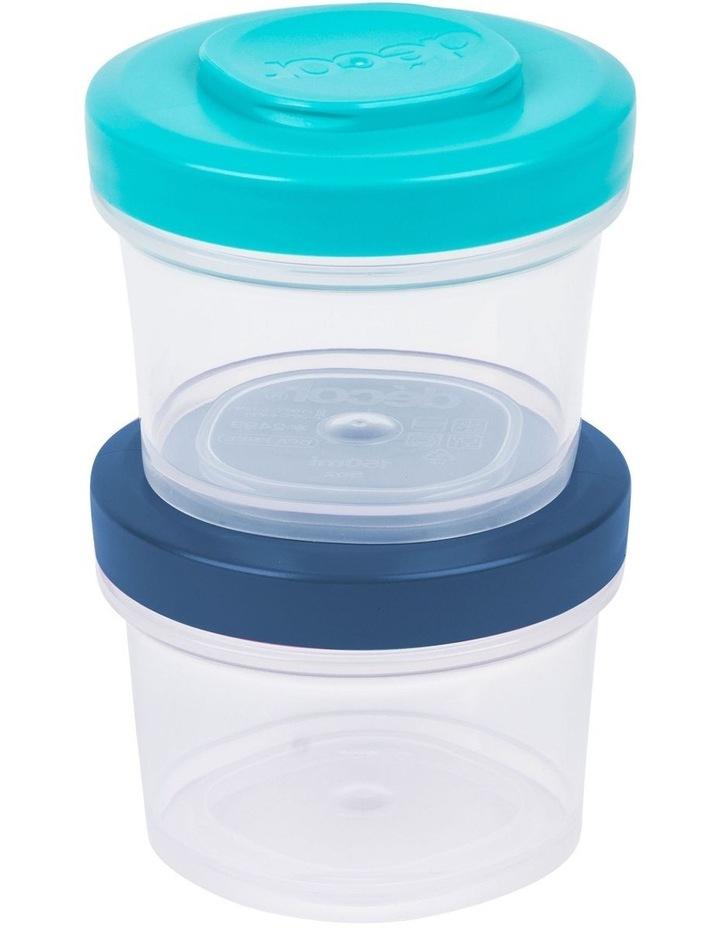 Go Snack Tub Medium Round 2 Pack 150ml  Assorted image 3