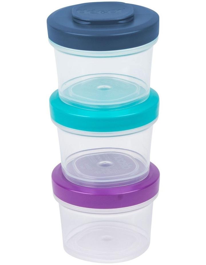 Go Snack Tub Medium Round 2 Pack 150ml  Assorted image 4