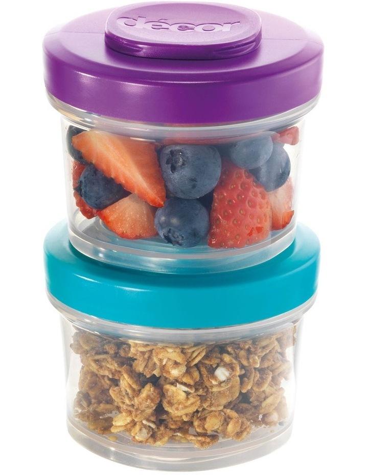 Go Snack Tub Medium Round 2 Pack 150ml  Assorted image 6