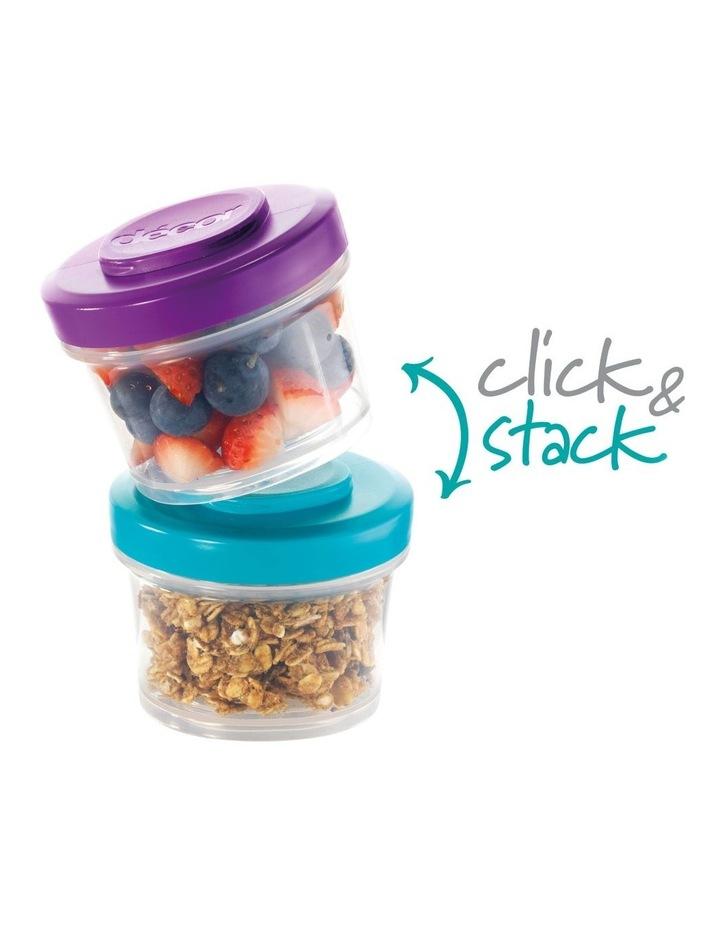 Go Snack Tub Medium Round 2 Pack 150ml  Assorted image 7