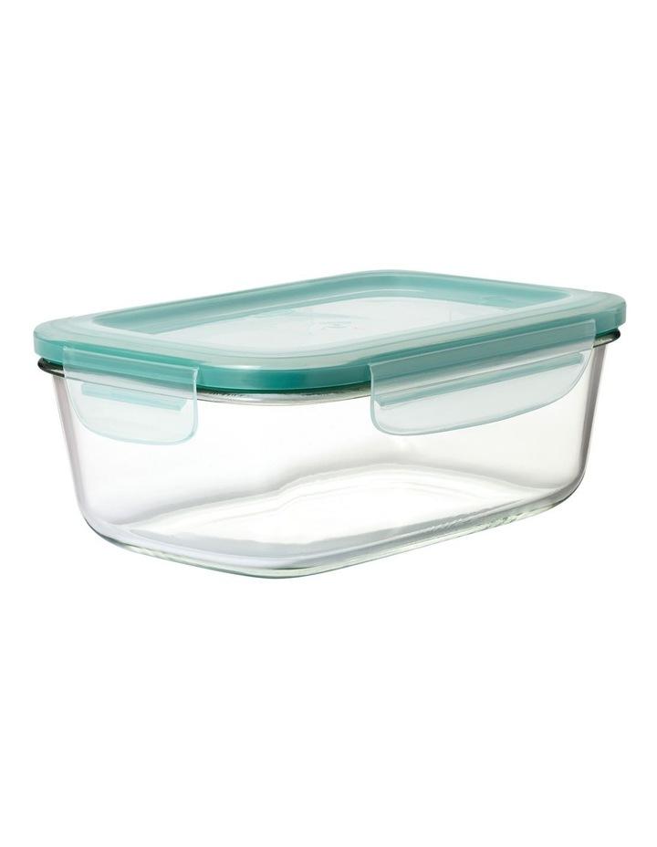 4-Piece Smart Seal Glass Rectangular Container Set image 3